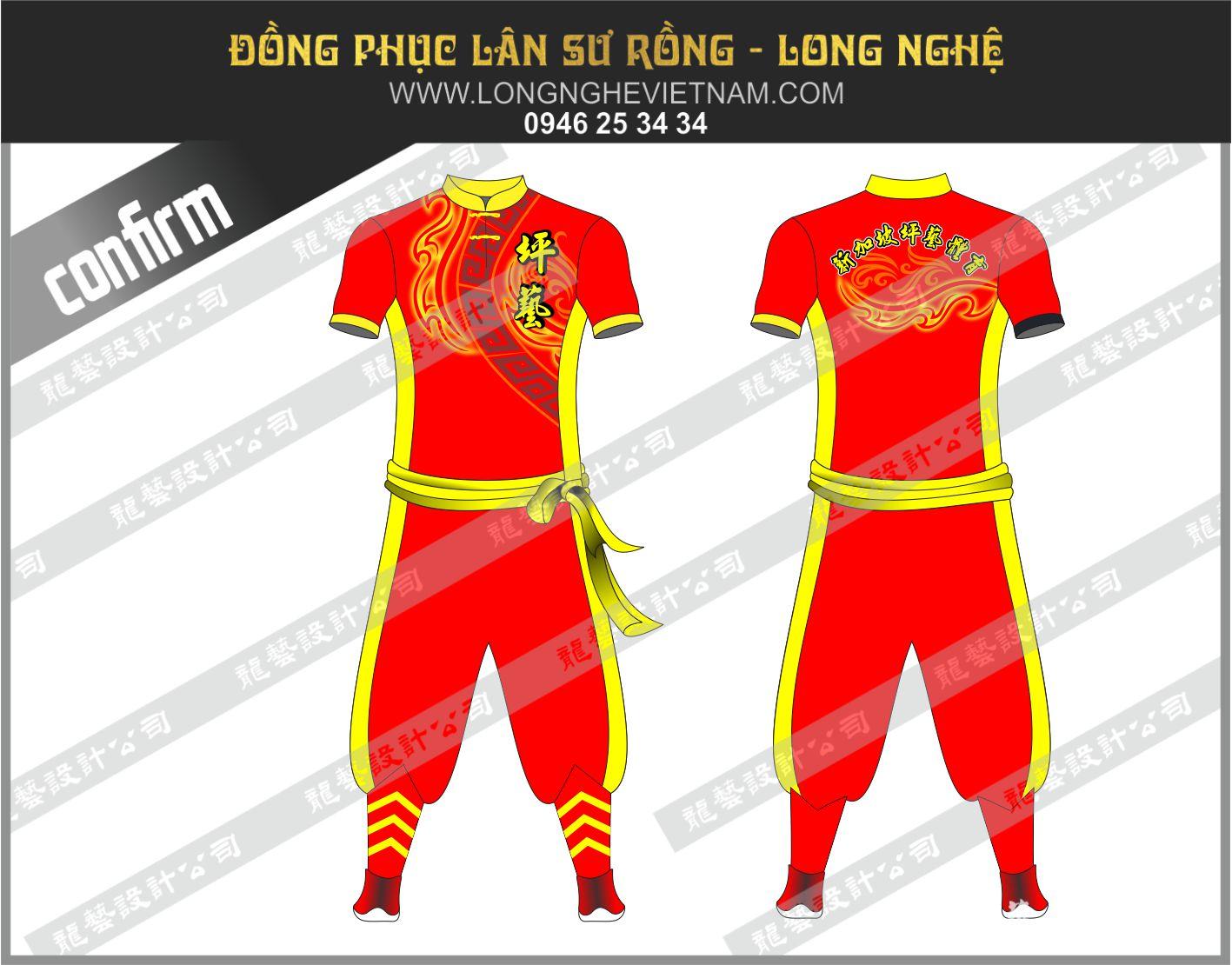 Đồng phục múa lân longnghevietnam